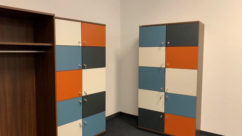 Schließfächer und Garderobe Stand 04.02.2020